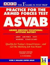 Practice for the Armed Forces Test: Asvab/Armed Services Vocational Aptitude Bat