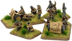 Battlefront FoW WWII German 15mm 7.5cm leIG18 Gun (Gebirgsjager) Pack New