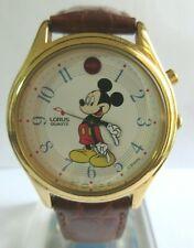 Retro Lorus Disney Musical Mickey Mouse Watch