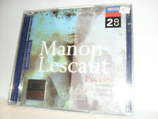 Puccini – Manon Lescaut  -Te Kanawa / Carreras / Chailly -2CDs