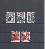 Estland, Eesti 1928, Michelnummern: ex 84 - 88, gestempelt o, Katalogwert € 25