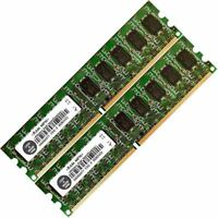 Memory Ram 4 Desktop PC DDR2 PC2 5300 667MHz 240 pin UDIMM ECC Unbuffered 2x Lot