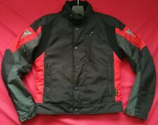 """DAINESE D-DRY CORDURA MOTORCYCLE JACKET UK 38"""" CHEST  EU 48 SMALL"""