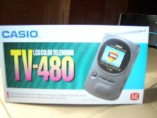 Casio TV-480 LCD Pocket Color Television Analog NEW In Sealed Box Vintage