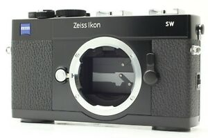 *MINT*  Zeiss IKON SW 35mm Film Camera Black Body For Leica M Mount From JAPAN