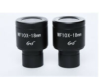 Compound Microscope  Eyepiece WF10X-18MM High Eye-point 23.2mm Pack of 2