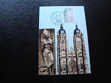 FRANCE - carte 1er jour 12/10/1974 (basilique de saint-nicolas) (cy51) french