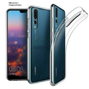 Luxury Ultra Slim Shockproof Silicone Case Cover for Huawei P20 P30 PSMART 2019