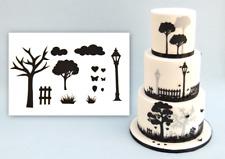 Patchwork cutters campagne silhouette set sugarcraft gâteau décoration outil
