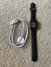 Apple Watch Series 1 38mm Space Gray Aluminum Case Black Sport Band