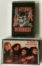 Slayer Nuremberg 85  / Holland 89 World Sacrifice CASSETTE TAPE LIVE tapes x 2