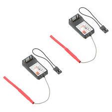 2 Stueck FlySky FS-R6B 2.4Ghz 6CH Empfaenger fuer FlySky TH9X FS-CT6B FS-T6 V1N1