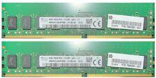 8GB SK Hynix DDR4 RAM for Desktop DIMM (HP 798033-001) free shipping  - (2x 4GB)