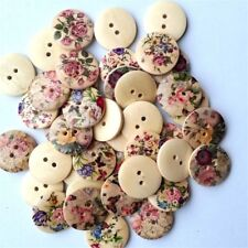 Bulk/job Color 50pcs Mixed Scrapbook Resin 20mm Round Buttons 2holes Sewing