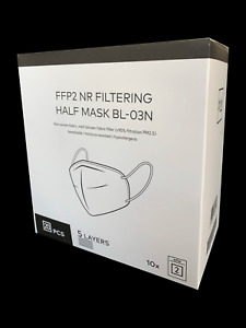 20 X FFP2 Schutzmasken • CE 0598 • Typ: BL-03N von BLNK • Versand aus D