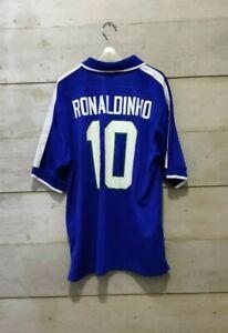 Rare! OriginalBRAZIL 1997 away jersey camiseta camisa Ronaldinho 10