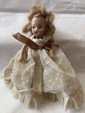 Nancy Ann Storybook Doll (?) Bisque Frozen Legs Lovely Doll