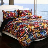 Aloha Duvet | Doona Quilt Cover Set by Georges | Beach | Palms | Surf | Queen
