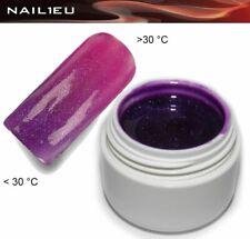 Thermo Gel 28 Purple - Darkpink Metallic 5ml Nail Colorgel Color