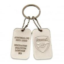 Official Licensed Football Product Arsenal Dog Tag Keyring Key Ring Fan Gift New