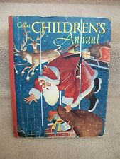 1958 Collins Childrens Annual Drawings Jean Walmsley Heap Pendelfin 1 full page
