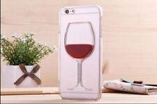 Liquid 3D Wine Glass Cocktail Bottle Phone Case Cover iPhone 7 4s 5s 6 6s Plus