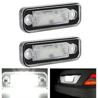 LED License Plate Light Lamp Error Free for Benz Mercedes W203 5D W211 R171 W Z1