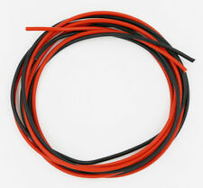 24 AWG Silicone Wire 10 Feet (5 ft Black & 5 ft Red) -24 Gauge Soft and Flexible