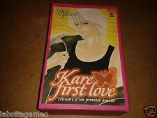 KARE FIRST LOVE KAHO MIYASAKA LOT 4 TOMES N°1 À 4 COFFRET LIVRE MANGAS VF PANINI