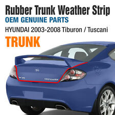 OEM Rubber Trunk Weather Strip Trim Trunk For HYUNDAI 2002-2008 Tiburon Tuscani