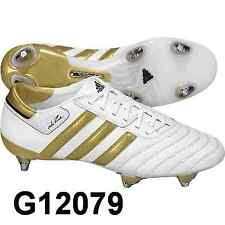 Adidas Adipure 3 SG taille uk-6 Fb. blanc/or g12079