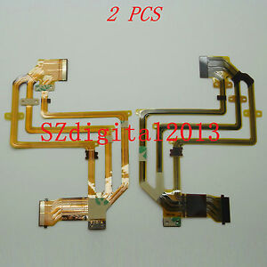 2PCS/ NEW LCD Flex Cable For Sony HDR- HC5E HC7E HC9E SR10E SR210E SR220E