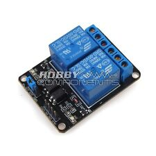 HOBBY componenti UK dispositivo compatibile con arduino 2 canali 5V Relay Module Expansion Board