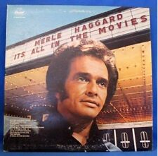 MERLE HAGGARD & STRANGERS, IT'S ALL IN THE MOVIES - LP