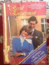 Princess Diana Lady Diana Royal Engagement Poster Booklet 1981 Rare