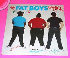 Record FAT BOYS The Fat Boys Are Back Old School Rap Hip Hop Vinyl LP