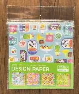 Design Paper Origami  Double Sided Retro Animals Sweets Pattern  36pcs Craft DIY