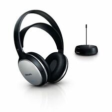 Philips SHC5100 FM Wireless Headphones w/Rechargeable Battery for TV/Radio/MP3
