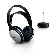 PHILIPS SHC5100 FM Wireless Cuffie W / BATTERIA RICARICABILE PER TV / RADIO / MP3