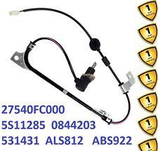 Rear R ABS Sensor for Subaru Forester SF 2.0 AWD 1997-02  5S11285 0844203 ALS812
