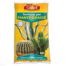 Terriccio specifico per piante grasse cactus succulente 10 L ottimo drenaggio