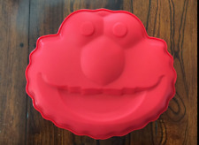 ELMO SESAME STREET SILICONE BIRTHDAY CAKE PAN CHOCOLATE CANDY MOLD