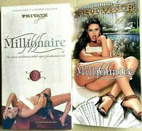 MILLIONAIRE - LIMITED EDITION 2 DVD- PRIVATE GOLD - DVD USATO HARD - FILM SEXY