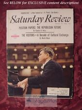 Saturday Review October 29 1966 CHARLES H PERCY EMIL GILELS