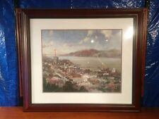 "Thomas Kinkade ""View from Coit Tower"" Gallery Proof 288 of 650 16x20 Free Ship!"