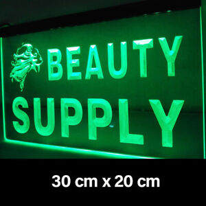 New Beauty Supply Pub Bar Man Cave Decor Led Neon Light Sign Gift Advertise