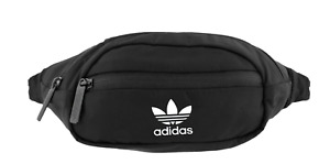 Adidas Originals National Waist Pack Bag Black fanny pack Trefoil travel