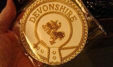Masonic Dress Apron Badge - Province of Devonshire - Mark , Deacon
