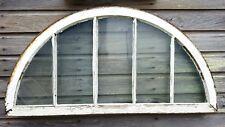 Architectural Salvage - ANTIQUE WINDOW SASH - 1900s ARCHED CHURCH RARE, no glass