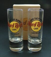 Hard Rock Cafe Las Vegas Shot Glass Set